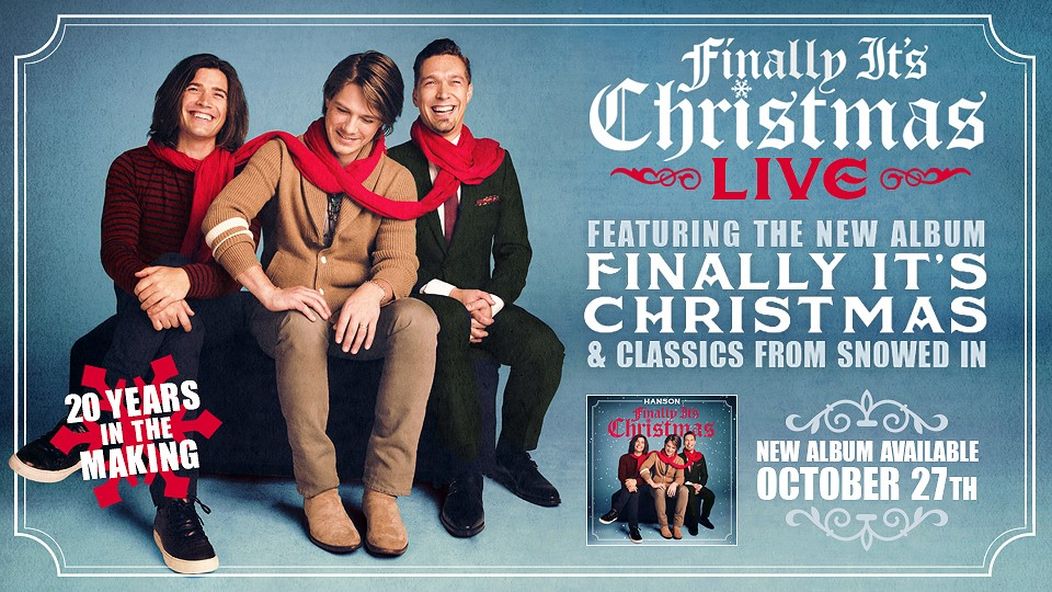 Finally It's Christmas Album & Tour Announcement - HANSON.NET